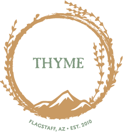 Mountain Thyme Hollow – Farm to table in Flagstaff, AZ Logo